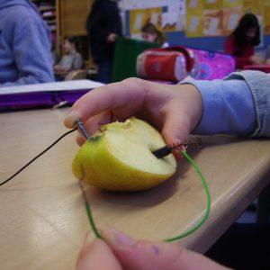 Apfelbatterie